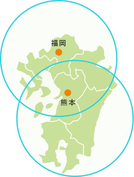 九州2箇所にお客様サポートセンターを設置