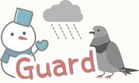 雨や雪、鳥の糞からの汚れを防止