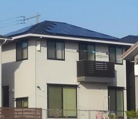 住宅用 太陽光発電(ソーラー発電):福岡県北九州市 井上様邸 5.39kW