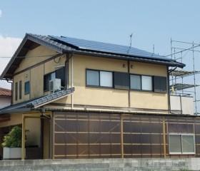 住宅用 太陽光発電(ソーラー発電):福岡県八女市 大塚様邸 10.34kW