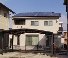 佐賀県佐賀市 川﨑様邸 住宅用太陽光発電システム 9.88kW