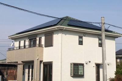 住宅用太陽光発電:福岡県大川市 田中様邸 8.126kW
