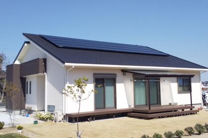 住宅用太陽光発電:福岡県京都郡 田村様邸 6.66kW