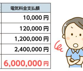 【100万円減らせる】生涯かかる電気代の削減術